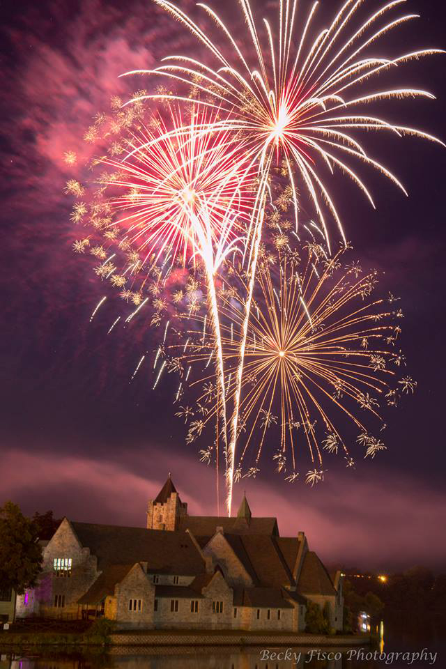 Canal Festival Fireworks in Seneca County (photo)