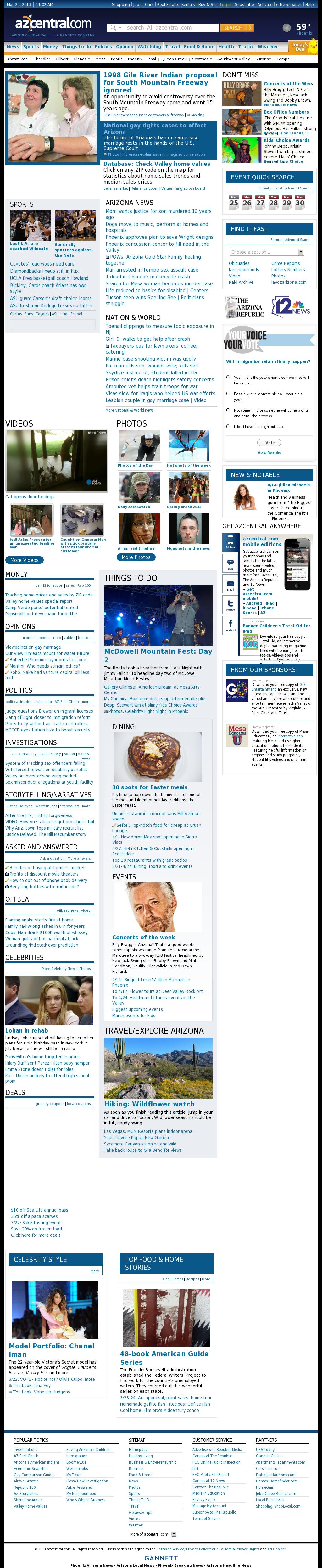 azcentral.com at Monday March 25, 2013, 11:02 a.m. UTC