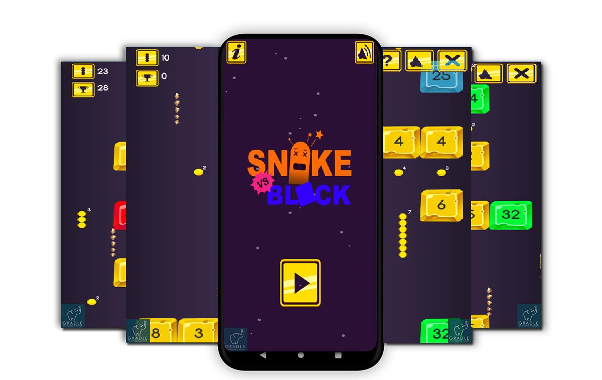 Snake vs Block V2 (Facebook + Android Studio) - 2