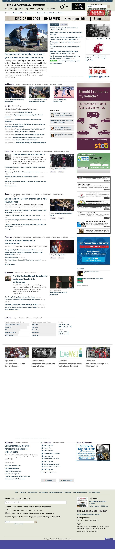 The (Spokane) Spokesman-Review at Monday Nov. 23, 2015, 4:24 p.m. UTC