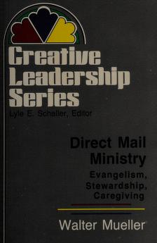 Cover of: Direct mail ministry | Walter Mueller