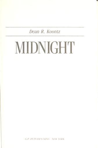 Midnight by Dean R. Koontz.
