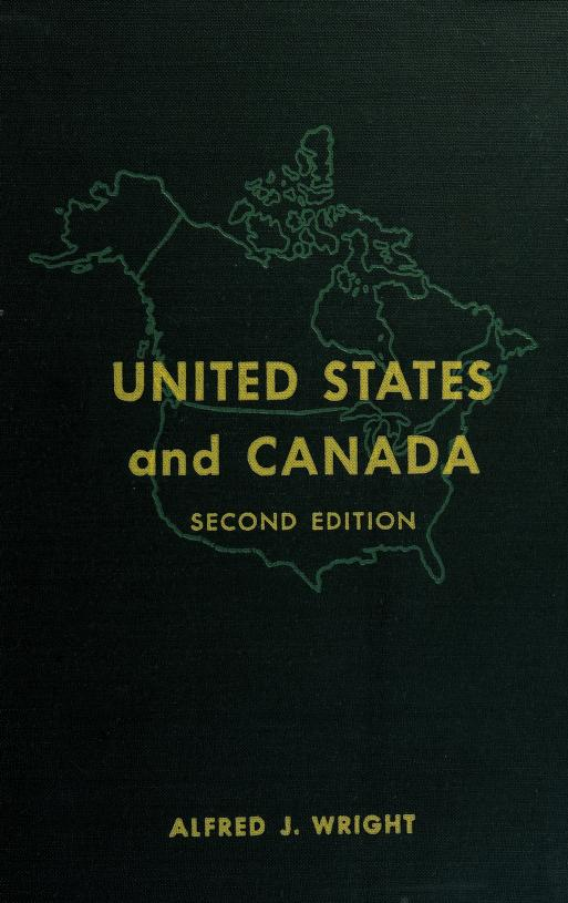 United States and Canada by Alfred James Wright